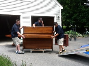 Piano Removals in London